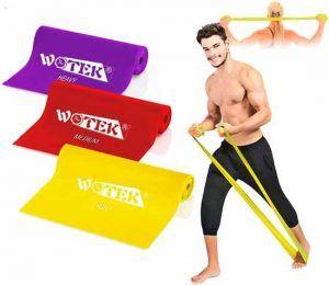 Gomas elasticas para fitness y musculacion